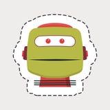 Robot head Royalty Free Stock Photos