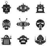 Robot Heads Stock Images