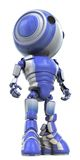 Robot Hero Stance. A robot standing straight looking like a hero Royalty Free Stock Image