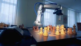 Robot het Spelen schaak het 3d teruggeven
