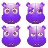 Robot hippo Stock Image