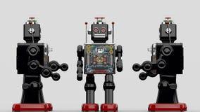 Robot. Horikawa 60's Fighting Robot Battery Operated original tin toy robot Stock Photography