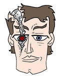 Robot humain Image stock