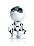 Robot i look up Stock Image