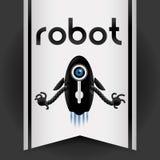 Robot icon design Stock Photos