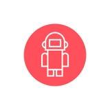 Robot icon vector illustration