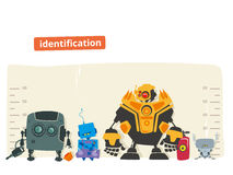 Robot Identification Stock Photography