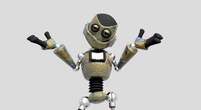 Robot idiot illustration de vecteur