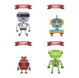 Robot Illustration Royalty Free Stock Images