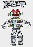 Robot. Image of a funny robot Royalty Free Stock Photos