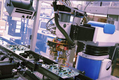 Robot industriale immagine stock