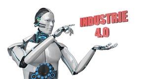 Robot Industrie 4 libre illustration