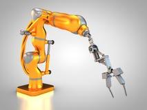 Robot industriel Photos stock