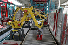 Robot industriel photo libre de droits