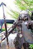 Robot Iron aliens Royalty Free Stock Photography