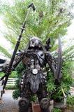 Robot Iron aliens Royalty Free Stock Photos