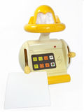 Toy robot isolated  Royalty Free Stock Image