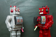 Robot kreda Zdjęcia Stock