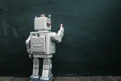 Robot kreda Obraz Royalty Free