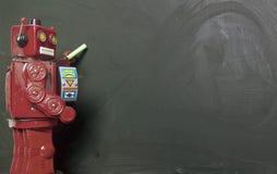 Robot kreda Fotografia Royalty Free