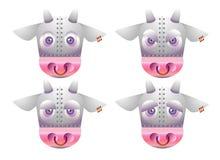 robot krowa. ilustracja wektor
