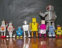 Robot line Stock Photo