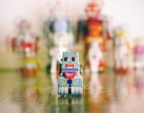 Robot little Stock Photo