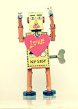 Robot love Royalty Free Stock Photography