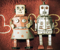 Robot love Royalty Free Stock Image