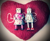 Robot love Stock Photo