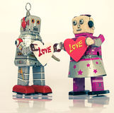 Robot love Royalty Free Stock Images