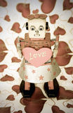 Robot love Stock Photography