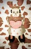 Robot love Stock Photography