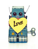 Robot love Royalty Free Stock Photos