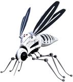 Robot Machine, Insect Mosquito, Isolated Royalty Free Stock Photos