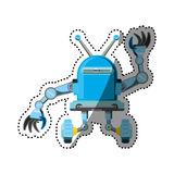 Robot machine technology Stock Photo
