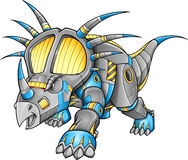 Robot Machine Triceratops Dinosaur Stock Photos