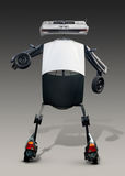 Robot Made from Auto Parts Stock Photo