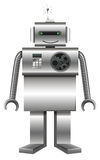 Robot made of metal Stock Photos
