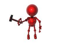 The robot  mechanic Stock Photo