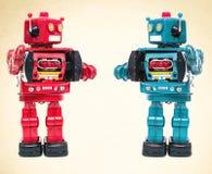 Robot meeting Stock Photography
