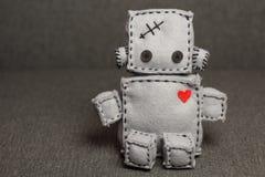 Robot miękkiej części zabawka Obraz Stock
