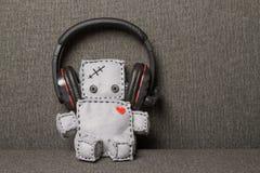 Robot miękkiej części zabawka Fotografia Royalty Free