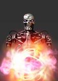 Robot militare Immagini Stock