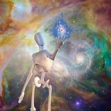 Robot mistyczka ilustracji