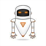 Robot moderno Imagen de archivo libre de regalías