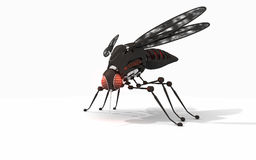 Robot mosquito stock illustration