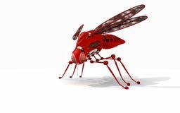 Robot mosquito vector illustration