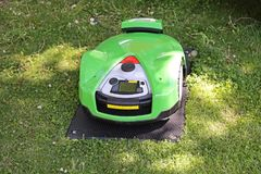 Robot Mower Royalty Free Stock Photo