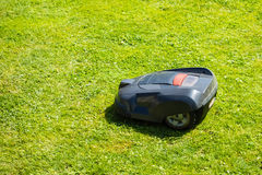 Robot mower Stock Photos